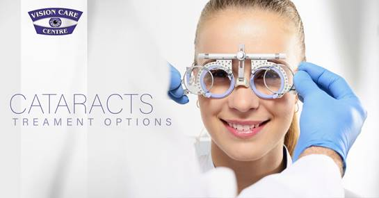 Get Treatment Options for Cataracts from Our Langley Optometrist